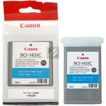 Tinte f. Canon imagePROGRAF W6400 [BCI-1431C] cyan