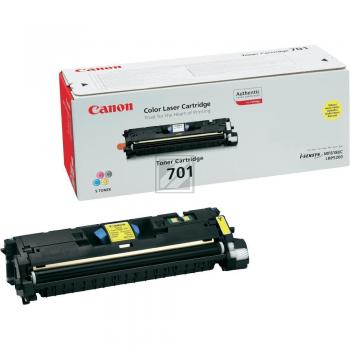 Canon Toner-Kit gelb HC (9284A003 9284A003AA, CL-701Y EP-701Y)