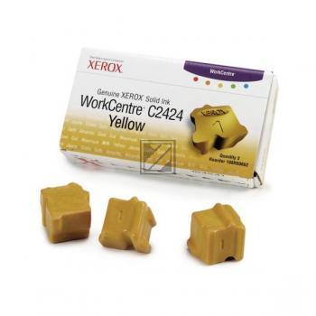 Xerox ColorStix gelb 3-er Pack (108R00662)