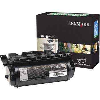 Lexmark Toner-Kartusche Prebate schwarz HC (X644H11E)