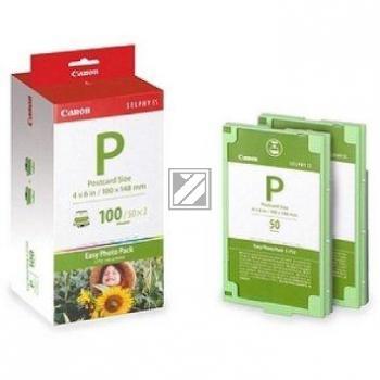 Canon Tintenpatrone + Papier farbig (1335B001, E-P100)