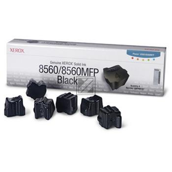 Xerox ColorStix 6 x schwarz 6-er Pack (108R00727)