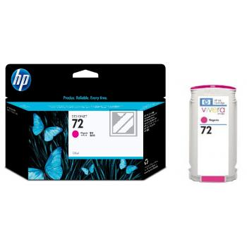 HP Tintenpatrone magenta HC (C9372A, 72)