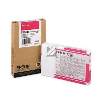 Epson Tintenpatrone magenta (C13T605B00, T605B)
