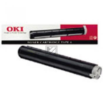 Toner f. OKI OKIPAGE 8W, 4500 (Lanier 4150,4175) [00079801] black
