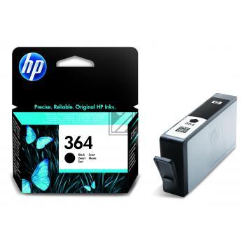 HP Tintenpatrone Photo-Tinte photo schwarz (CB317EE, 364)