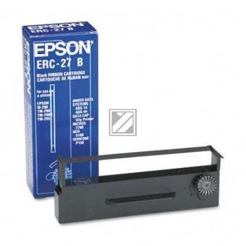 EPSON     Farbband Nylon ERC 27  schwarz S015366   TM-U290