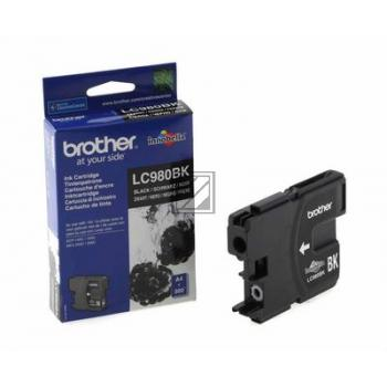 Brother Tintenpatrone schwarz (LC-980BK)
