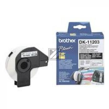 BROTHER P-Touch DK-11203 die-cut map label 17x87mm 300 labels [DK11203]