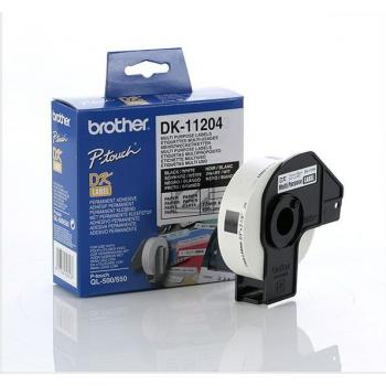 BROTHER P-Touch DK-11204 die-cut multi purpose label 17x54mm 400 labels [DK11204]