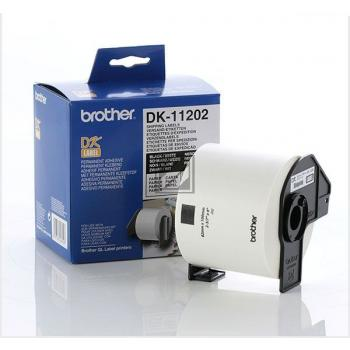 BROTHER P-Touch DK-11202 die-cut mailing label 62x100mm 300 labels [DK11202]