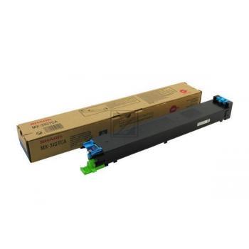 Toner f. Sharp MX-3100 [MX-31GTCA] cyan
