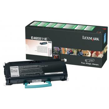 Lexmark Toner-Kartusche Return schwarz HC plus (E460X11E)