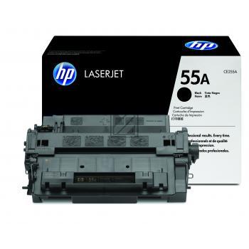 HP Toner-Kartusche schwarz (CE255A, 55A)