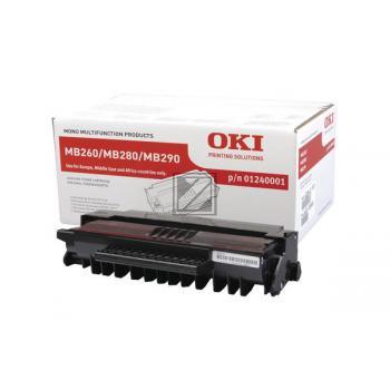 OKI MB260, 280, 290 Toner schwarz hohe Kapazität 5.500 Seiten 1er-Pack [1240001]