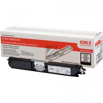 OKI Toner-Kit schwarz (44250724)