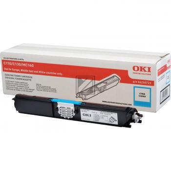 OKI Toner-Kit cyan HC (44250723)