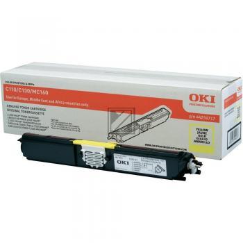 OKI Toner-Kit gelb (44250717)