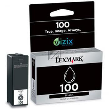 Lexmark Tintenpatrone Prebate schwarz (14N0820E, 100)