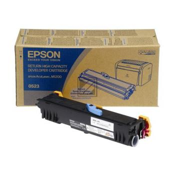 Epson Toner-Kartusche Return schwarz HC (C13S050523, 0523)