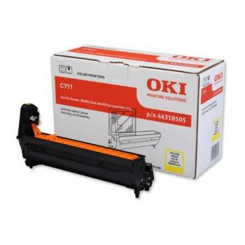 OKI Fotoleitertrommel gelb (44318505)