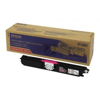 Epson Toner-Kit magenta HC (C13S050555, 0555)