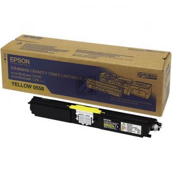 Epson Toner-Kit gelb (C13S050558, 0558)