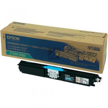 Epson Toner-Kit cyan (C13S050560, 0560)