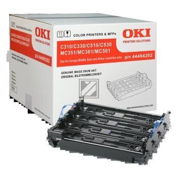 OKI Fotoleitertrommel gelb, cyan, magenta, schwarz (44494202)