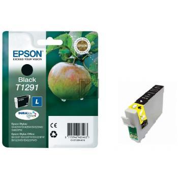Epson Tintenpatrone schwarz HC (C13T12914010, T1291)