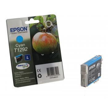Epson Tintenpatrone cyan HC (C13T12924010, T1292)