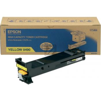 Epson Toner-Kit cyan (C13S050492, 0492)