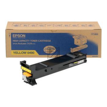 Epson Toner-Kit gelb (C13S050490, 0490)