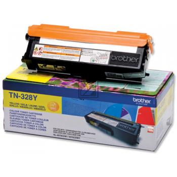 Brother Toner-Kit gelb HC plus (TN-328Y)