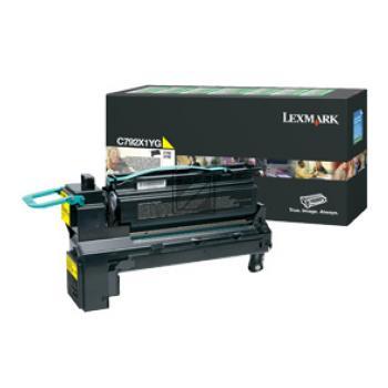 Lexmark Toner-Kartusche Prebate gelb HC (C792X1YG)