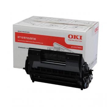 OKI Toner-Kartusche schwarz (01279001)