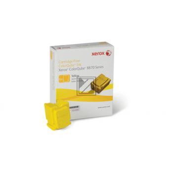 Xerox ColorStix 6 x gelb 6-er Pack (108R00956)