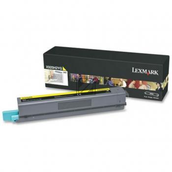 Lexmark Toner-Kartusche gelb (X925H2YG)
