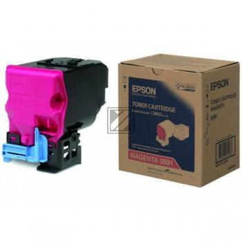 Epson Toner-Kit magenta (C13S050591, 0591)
