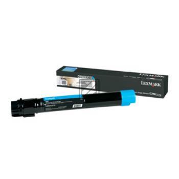 Lexmark Toner-Kit cyan (C950X2CG)