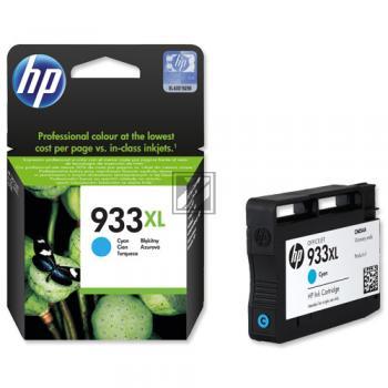 HP Tintenpatrone cyan HC (CN054AE, 933XL)