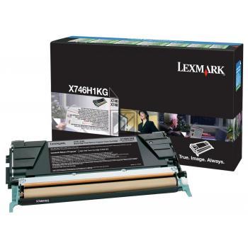 Lexmark Toner-Kit Return schwarz (X746H1KG)