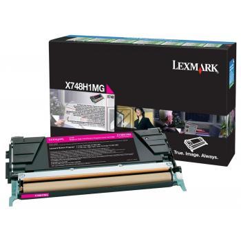 Lexmark Toner-Kit Return Program Return magenta HC (X748H1MG)