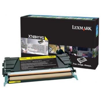 Lexmark Toner-Kit Return Program Return gelb HC (X748H1YG)