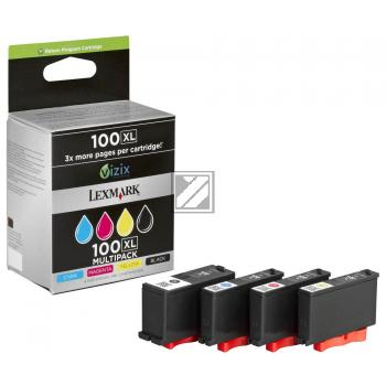 Tinte f. Lexmark Pinnacle PRO 901 [14N1921E] Multipack black, cyan, magenta, yellow
