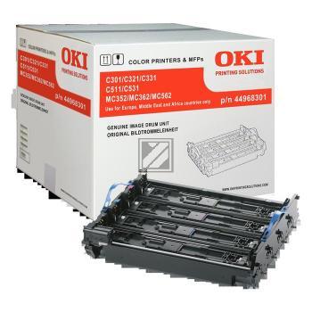 OKI Fotoleitertrommel gelb cyan magenta schwarz (44968301)