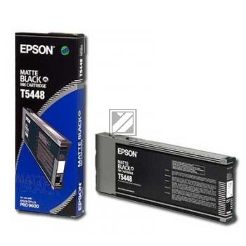 Epson Tintenpatrone schwarz matt (C13T544800, T5448)