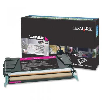 Lexmark Toner-Kartusche Return Program magenta (C746A1MG)
