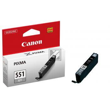 Canon Tintenpatrone grau (6512B001, CLI-551GY)