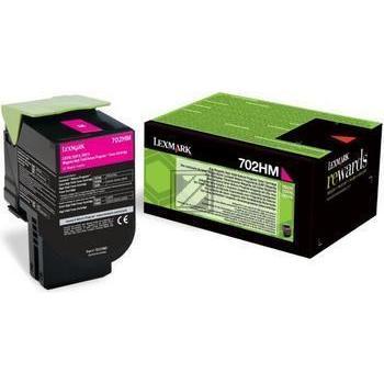 Lexmark Toner-Kit Return magenta HC (70C2HM0, 702HM)